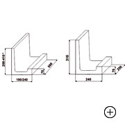 Kształtka wieńcowa typu L 31 [1/2] [ 31x24x25 ]