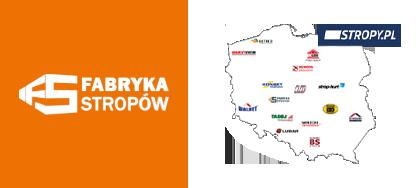 FABRYKA STROPÓW jest członkiem grupy producentów stropów - STROPY.pl
