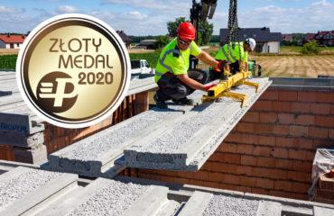 Złoty Medal 2020 MTP dla stropu Teriva Panel